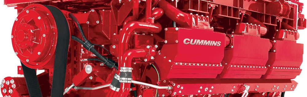 Dettaglio motore Cummins